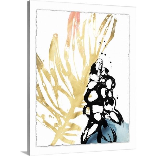 """Tropical Moderne II"" Canvas Wall Art"