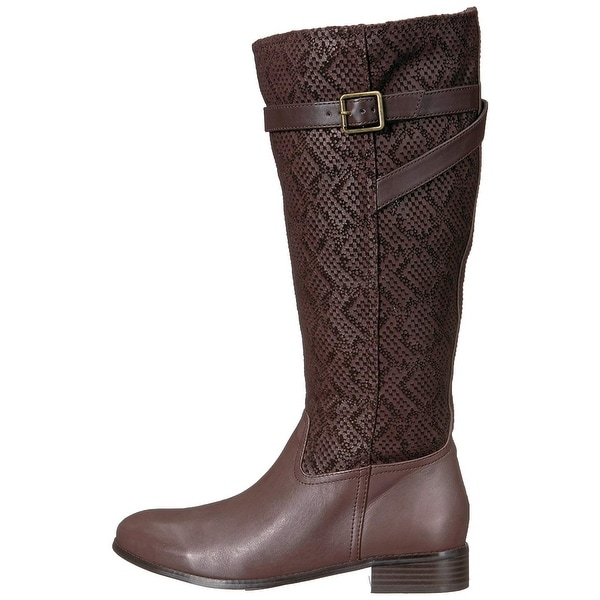 Trotters Womens Lyra Closed Toe Knee High Fashion Boots