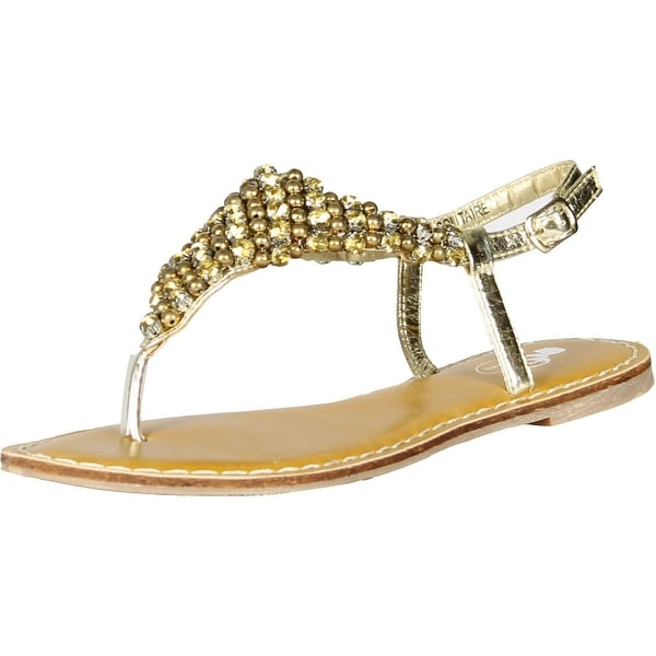 Gcny Good Choice Womens Solitaire Fashion Sandals