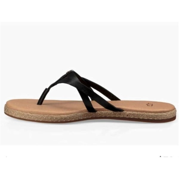 Ugg Womens Annice Leather Open Toe Beach