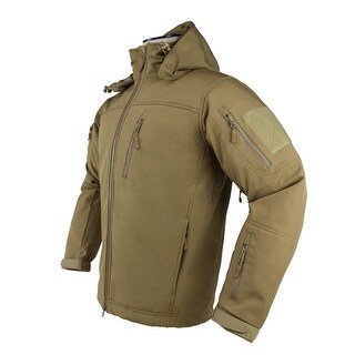 VISM by NcSTAR ALPHA TREKKER JACKET - TAN - MEDIUM