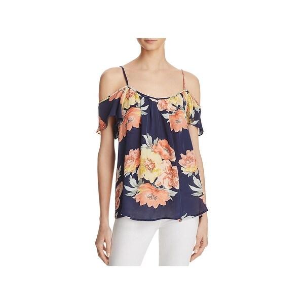 87377aeaa4210 Shop Joie Womens ADORLEE Pullover Top Silk Sleeveless - Free ...