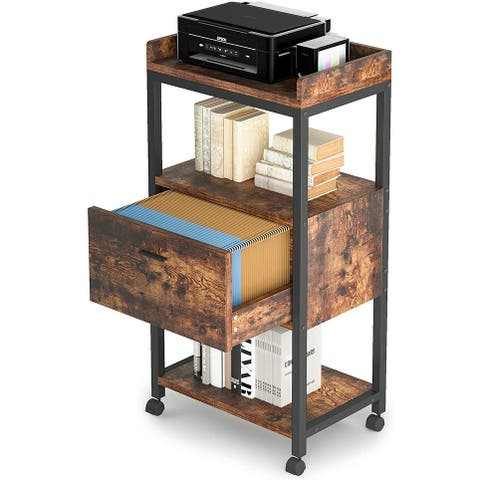 Large Filing Cabinets Organizers, Modern Lateral Mobile File Storage Cabinet