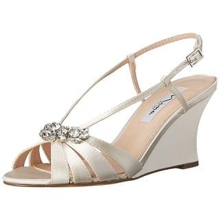 7939ec120d2a Nina Women s Fenna Platform Stiletto Sandal Stone Glitter Fabric Snow Dot  Mesh · Quick View
