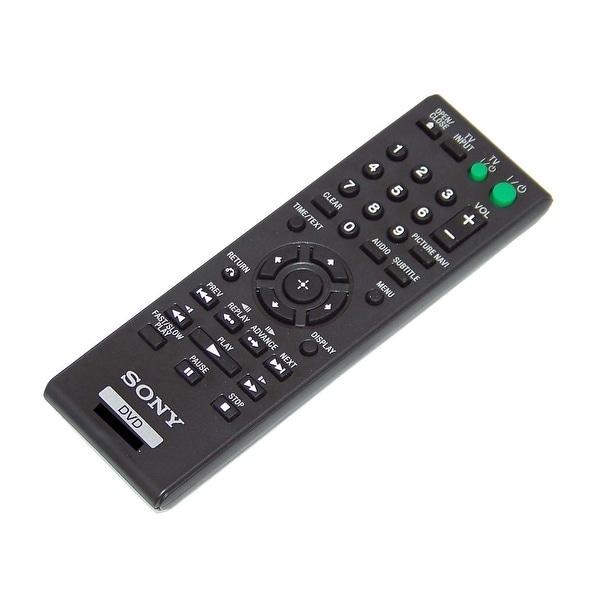 OEM Sony Remote Control Originally Shipped With: DVPSR110, DVP-SR110, DVPSR320, DVP-SR320, DVPSR310P, DVP-SR310P