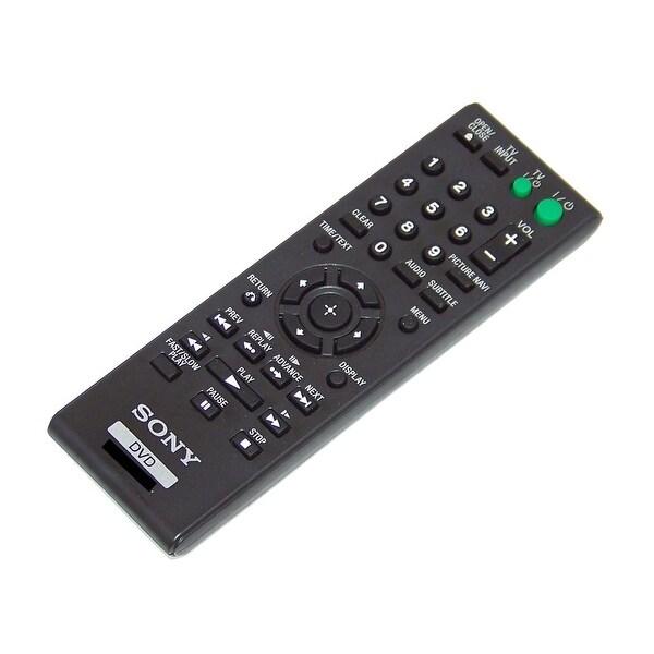 OEM Sony Remote Control Originally Shipped With: DVPSR210P, DVP-SR210P, DVPSR510H, DVP-SR510H, DVPSR115, DVP-SR115