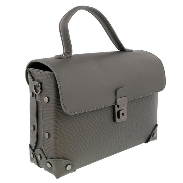 HS Collection HS8422 GG GALA Grey Shoulder Bag - 10.5-8.5-3.5