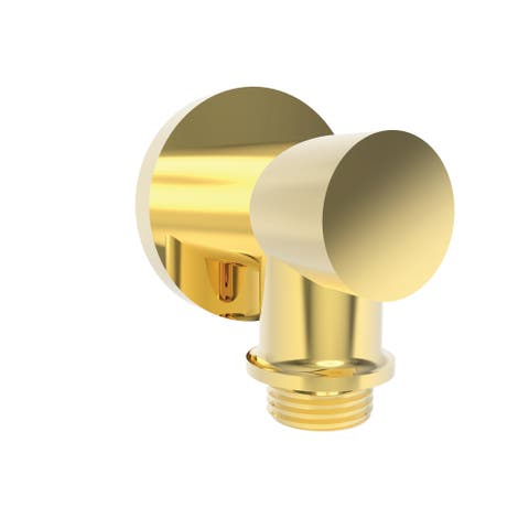 Newport Brass 285-2 Solid Brass Wall Mounted Supply Elbow for Hand Shower Hose