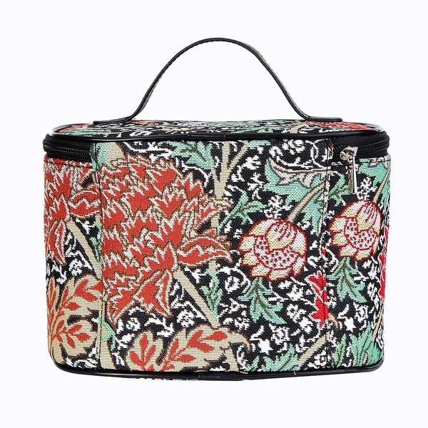 25e99daedd Shop Signare Women s William Morris Tapestry Makeup Bag - Floral Travel  Cosmetic Case - One size - Free Shipping On Orders Over  45 - Overstock -  27456928