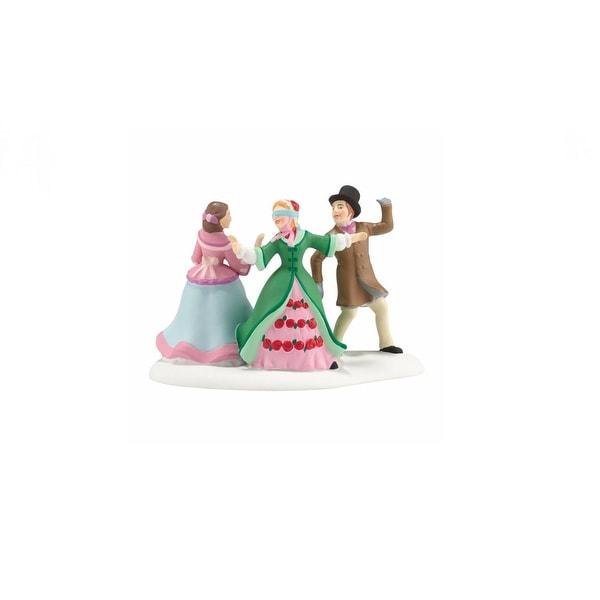 "Department 56 Dickens A Christmas Carol ""Blindman's Buff"" Accessory #4036527 - green"