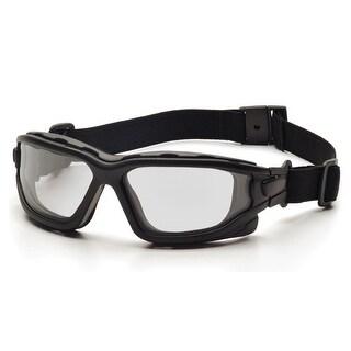 Pyramex I-Force Black Frame Clear AF Lens Sealed Eyewear - SB7010SDT
