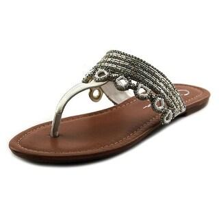 Jessica Simpson Ravalli Open Toe Synthetic Thong Sandal