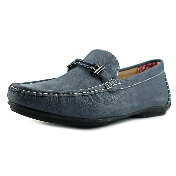 Stacy Adams Percy Men Navy Loafers