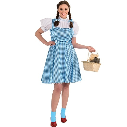 c97d91ed5e Shop Rubies The Wizard of Oz Dorothy Plus Size Costume - Blue - plus size - Free  Shipping On Orders Over  45 - Overstock - 15420865