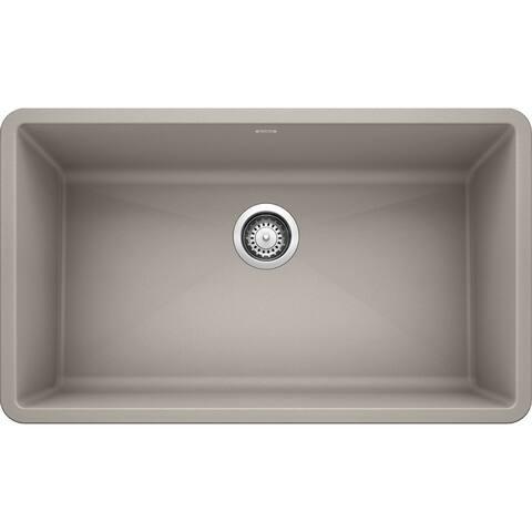 "Blanco 440150 Precis 32"" Undermount Single Basin SILGRANIT Kitchen"