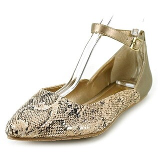 Kenneth Cole Reaction Snub City Women Pointed Toe Canvas Flats