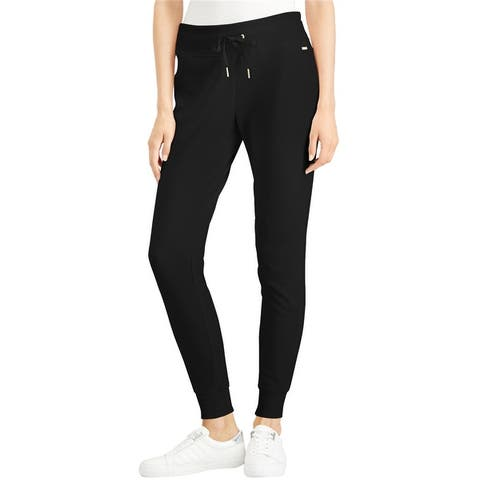 Calvin Klein Womens Tapered Casual Jogger Pants