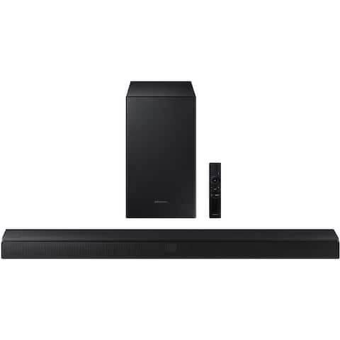 Samsung Hw-T450 2.1Ch Soundbar W/ Dolby Audio & Subwoofer