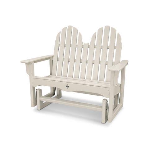 "Trex Outdoor Furniture Cape Cod Adirondack 48"" Glider"