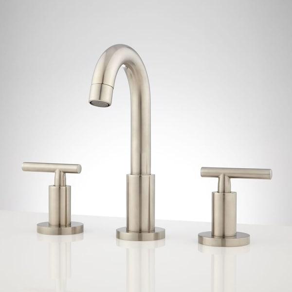 Signature Hardware 931724 Bareva Widespread Bathroom Faucet Drain Embly Inc