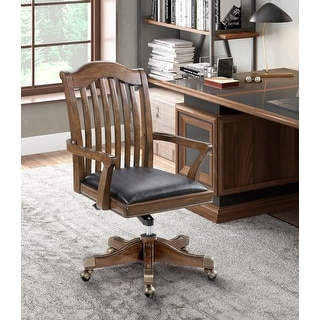 Link to Walnut Finish Home Office Chair Similar Items in Office & Conference Room Chairs