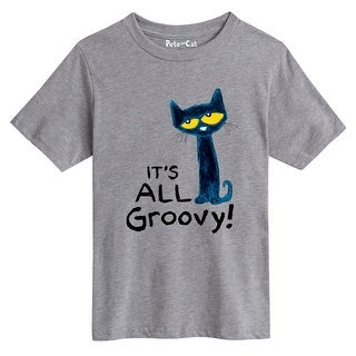 Pete The Cat It's All Groovy - Youth Short Sleeve Tee