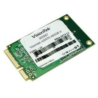 Visiontek 3D Mlc Msata 480Gb Ssd 550 Mb/S Read And 390 Mb/S Write - 900987