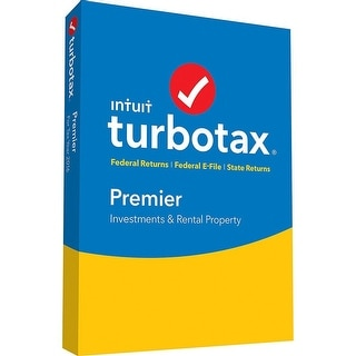 Turbotax Premier 2016 Federal + State + Federal Efile for Windows-Mac