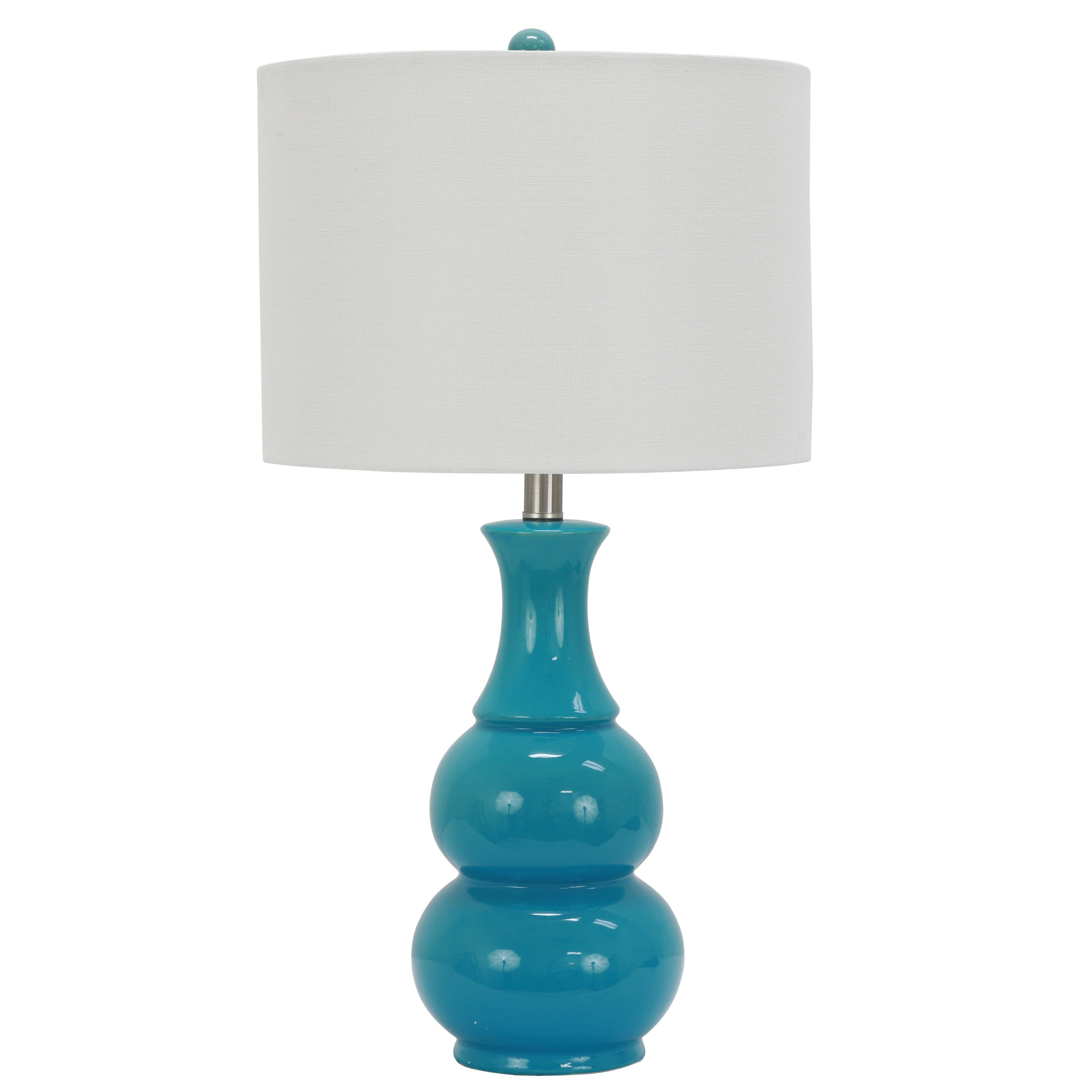 thumbnail 9 - Copper-Grove-Arans-Table-Lamp-with-Off-white-Drum-Shade