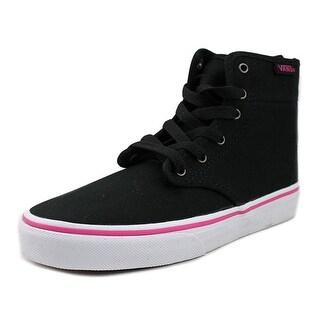 Vans Camden Hi Zip Round Toe Canvas Skate Shoe