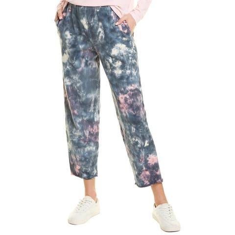 Lucky Brand Sueded Terry Crop Pant