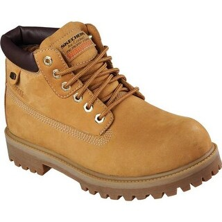 Skechers Men's Sergeants Verdict Rugged Ankle Boot Wheat