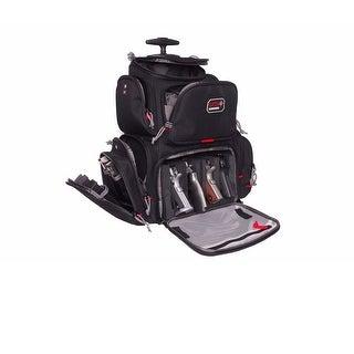"""G.P.S. Rolling """"Handgunner"""" Backpack-Black GPS-1711ROBP"""