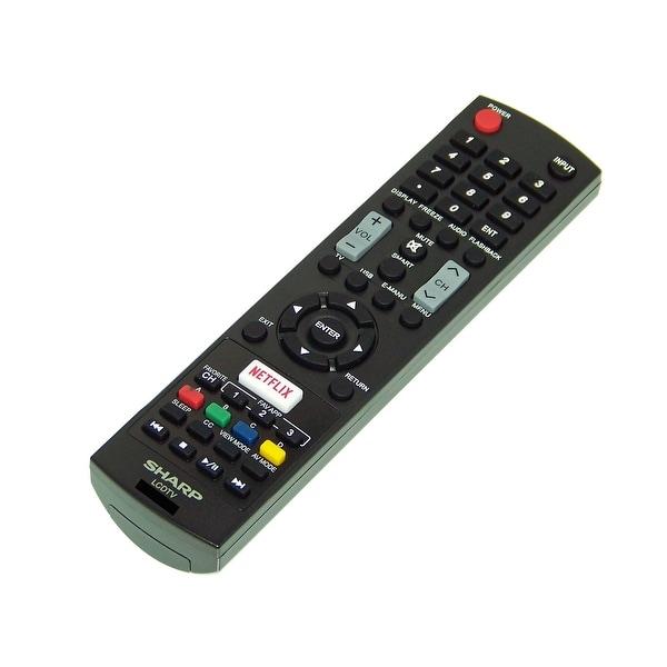 OEM Sharp Remote Control Originally Shipped With LC55LE653U, LC-55LE653U, LC65LE654, LC-65LE654, LC65LE654U, LC-65LE654U