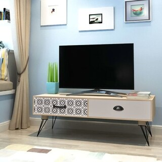 "vidaXL TV Side Table 39.4""x15.7""x13.8"" Brown"
