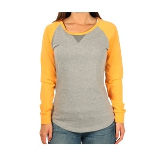 """Ouray Junior Scoop-Neck """"Baseball"""" Shirt
