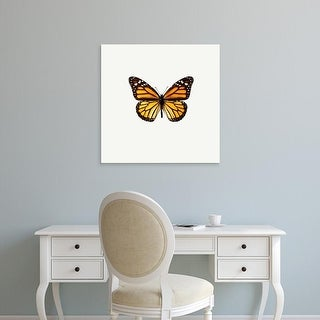 Easy Art Prints PhotoINC Studio's 'Yellow Butterfly' Premium Canvas Art