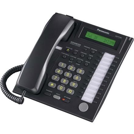 Panasonic KX-T7731B Speakerphone Telephone With LCD