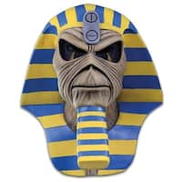 Iron Maiden Powerslave Cover Costume Mask - Blue