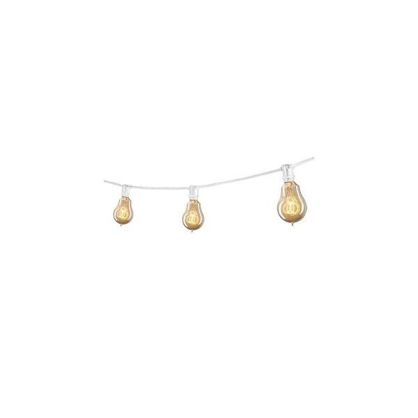 Bulbrite 810053 25 Foot 15 Light Socket String Light - WHITE - N/A