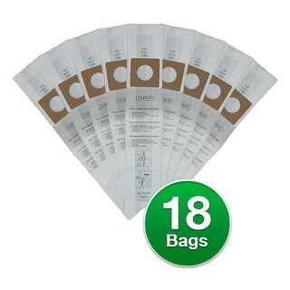 """Replacement Vacuum Bag for Royal Upright D / 123SW (6-Pack) Replacement Vacuum Bag"""