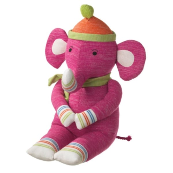 Shop 33 Genuine Monkeez And Friends Large Pink Plush Elmer Elephant