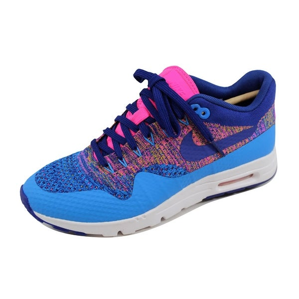 93b0be62cdfac Shop Nike Women s Air Max 1 Ultra Flyknit Photo Blue Deep Royal Blue ...