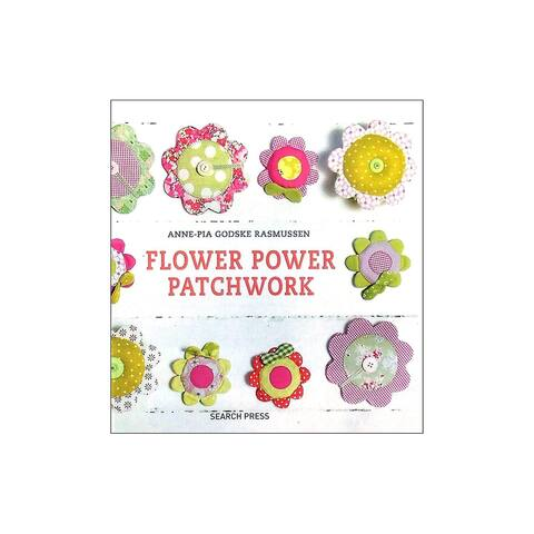 Search Press Flower Power Patchwork Bk