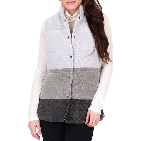Nic + Zoe Womens Frost Free Outerwear Vest Fall Reversible