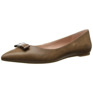 Enzo Angiolini Women's Collay Synthetic Ballet Flat