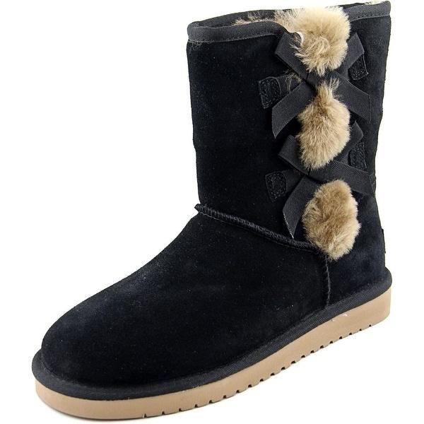 Koolaburra W Victporia Short Black Snow Boots
