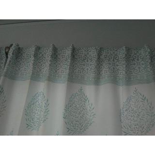 "Lush Decor Teardrop Leaf Room Darkening Window Curtain Panel Pair - 52"" W X 84"" L"