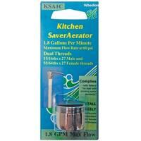 Whedon KSA1C Kitchen Saver Faucet Aerator, Silver