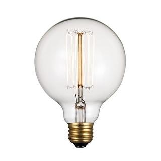 Link to Trans Globe Lighting OC-R60 Single 60 Watt Clear Globe Vintage Edison Similar Items in Light Bulbs